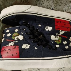 Vans x Peanuts Snoopy Flying Ace Charlie Brown